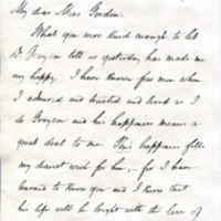 Woodrow Wilson to Alice Gertrude Gordon