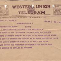 W. Bruce Helm to William G. McAdoo
