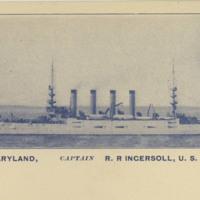 USS Maryland, Captain RR Ingersoll, USN, Commanding