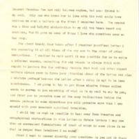 Margaret Woodrow Wilson to Francis B. Sayre Jr.