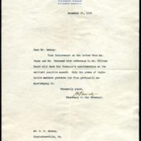 Joseph P. Tumulty to Richard Heath Dabney