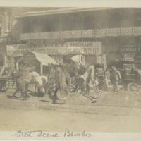 Street Scene Bombay