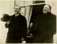 Woodrow Wilson and William H. Taft
