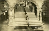 Main Staircase, General Hospital, Oxford, England