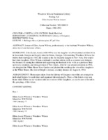 Ellen Axson Wilson Finding Aid.pdf