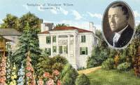 Birthplace of Woodrow Wilson, Staunton, Va.&lt;br /&gt;<br /> West View with Flowers