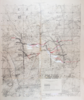 Map – 42nd Division, Meuse Argonne
