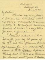 William G. McAdoo to Eleanor Randolph Wilson