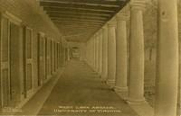 West Lawn Arcade, UVA