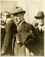 Woodrow Wilson and William G. McAdoo