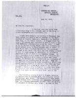 Tasker H. Bliss to Newton D. Baker