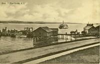 Dock. Fort Greble, RI