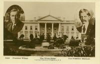 White House Portrait of Wilson and Marshall