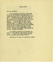 Cary T. Grayson to William G. McAdoo
