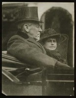 Woodrow Wilson and Edith Bolling Wilson in Wilson's Second Inaugural Parade