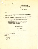 FM Gunther to Norman Hezekiah Davis