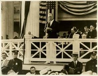 Woodrow Wilson Addressing Young Men's Democratic Club, Shadow Lawn, NJ