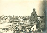 Ruins of Nieuport, Belgium