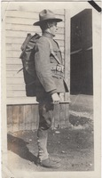 Side View of Soldier with Kit
