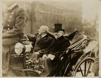 Woodrow Wilson and Raymond Poincaré
