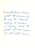 Woodrow Wilson to Mr. and Mrs. N.O. Vruland