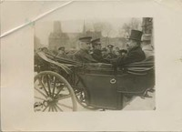 John Joseph Pershing and Cary T. Grayson in an Open Carriage