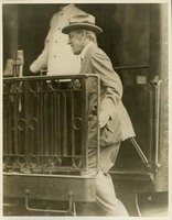 Woodrow Wilson Leaving Princeton for Washington