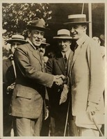 Woodrow Wilson and William F. McCombs