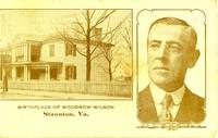 Manse, Northeast View with Wilson's Portrait