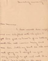 Margaret Woodrow Wilson to Ellen Axson Wilson