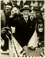 Woodrow Wilson at the World Series