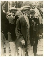 Woodrow Wilson with Princeton Classmates at the Yale-Princeton Baseball Game