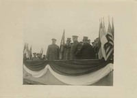 Woodrow Wilson and John J. Pershing in France