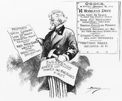 Uncle Sam's Orders