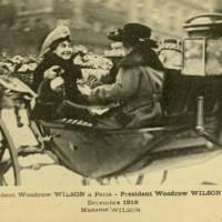 Edith Wilson in Paris