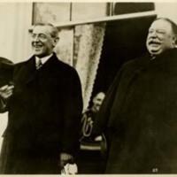 Woodrow Wilson and William H. Taft