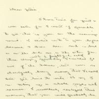 Margaret Woodrow Wilson to Jessie Woodrow Wilson Sayre