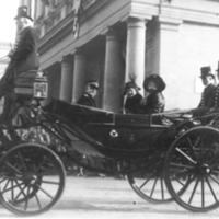 Edith Bolling Wilson, Duca de Genova and Queen of Italy in Rome