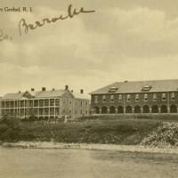 Barracks. Fort Greble, RI