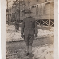 Soldier in the Snow