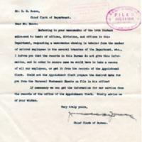 James E. Jones to RM Reese