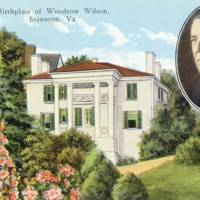 Birthplace of Woodrow Wilson, Staunton, Va.<br /><br />
