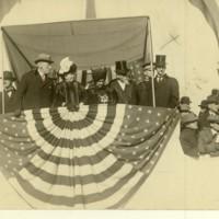 Wilson, Ellen, and VA Governor Mann