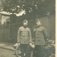 Edward D. Shoor and Soldier in Paris