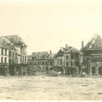 Ruined Buildings in Peronne, France
