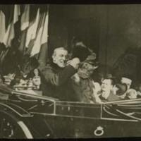 Woodrow Wilson and Victor Emmanuel III of Italy