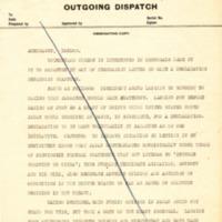 Memorandum on Japanese Declaration on Shantung