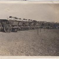 Row of Wagons