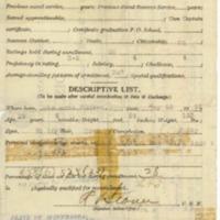 Ole K. Halverson Service Record