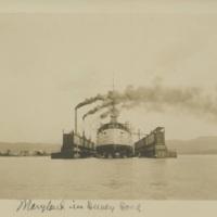 Maryland in Dewey Dock